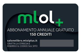 Card MLOL Plus Salone del Libro (retro)
