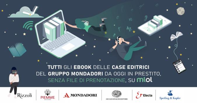 Ebook Gruppo Mondadori su MLOL