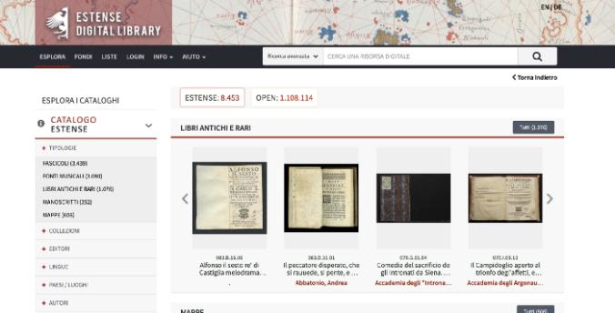Estense Digital Library